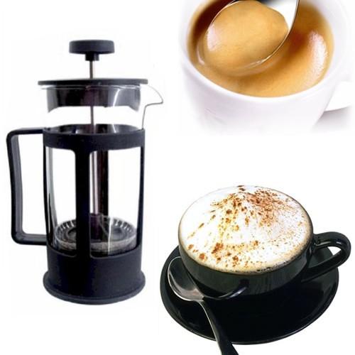 SBATTITORE SCHIUMATORE SCHIUMA LATTE CAFFE BEVANDE CAPPUCCINO SHAKER VETRO